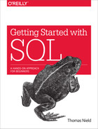 Cover of Getting Started with SQL