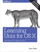 Cover of Learning Unix for OS X, 2nd Edition