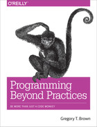 Cover of Programming Beyond Practices