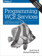 Cover of Programming WCF Services, 4th Edition