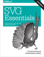 Cover of SVG Essentials, 2nd Edition