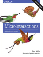 Book cover for Microinteractions: Full Color Edition