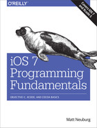Cover of iOS 7 Programming Fundamentals