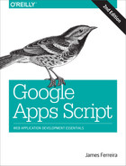 Cover of Google Apps Script, 2nd Edition