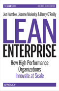 Book cover for Lean Enterprise