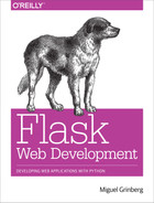 Cover of Flask Web Development