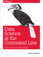 Book cover for Data Science at the Command Line