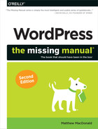 Cover of WordPress: The Missing Manual, 2nd Edition