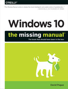Cover of Windows 10: The Missing Manual