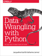 Cover of Data Wrangling with Python