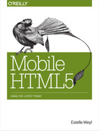 Cover image for Mobile HTML5