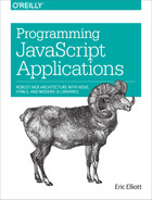 Cover image for Programming JavaScript Applications