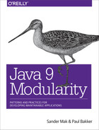 Cover of Java 9 Modularity