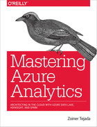 Cover of Mastering Azure Analytics, 1st Edition