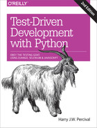 Cover of Test-Driven Development with Python, 2nd Edition