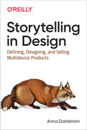 Cover of Storytelling in Design