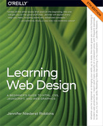 Cover of Learning Web Design, 5th Edition