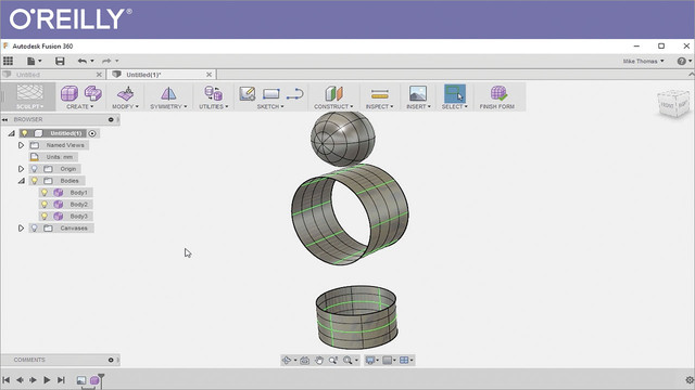 Master Part Modeling with Autodesk Fusion 360