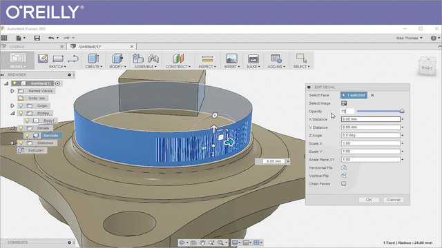 Component Design with Autodesk Fusion 360