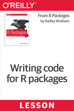 Writing code for R packages