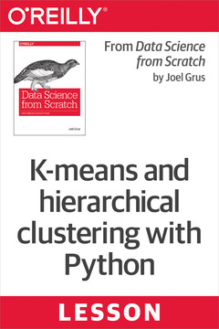 K-means and hierarchical clustering with Python