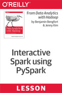Cover of Interactive Spark using PySpark