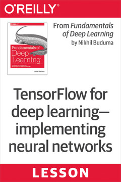 TensorFlow for deep learning—implementing neural networks