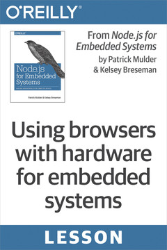 Using browsers with hardware for embedded systems