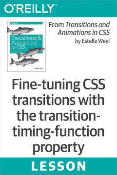 Fine-tuning CSS transitions with the transition-timing-function property