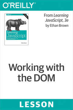 Working with the DOM