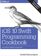 Cover of iOS 10 Swift Programming Cookbook