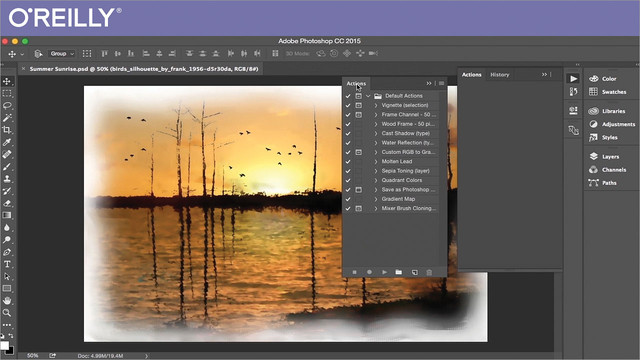 Automating Adobe Photoshop