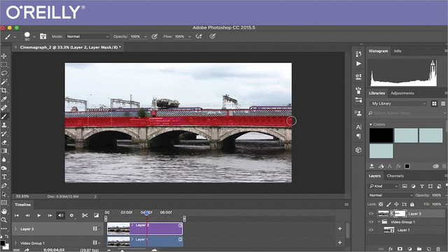 Creating Cinemagraphs in Adobe Photoshop