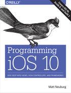 Cover of Programming iOS 10