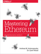 Cover of Mastering Ethereum