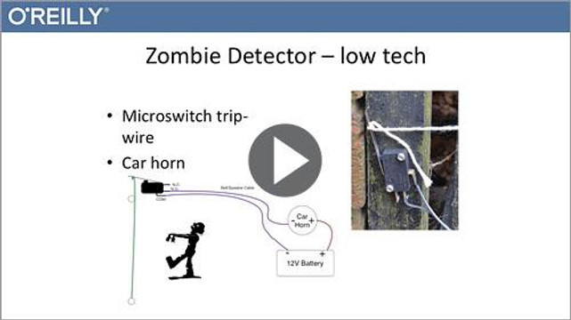 Using your Maker Skills to survive a Zombie Apocalypse with Raspberry Pi and Arduino