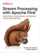 Cover of Stream Processing with Apache Flink
