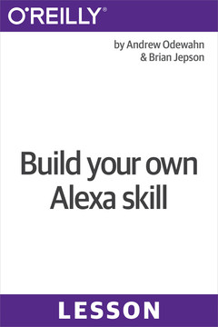 Build your own Alexa skill