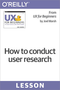 How to conduct user research