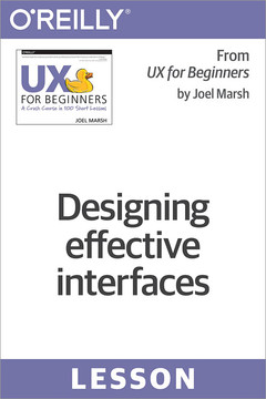 Designing effective interfaces