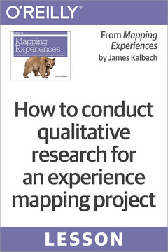 How to conduct qualitative research for an experience mapping project