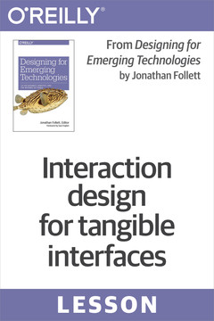 Interaction design for tangible interfaces