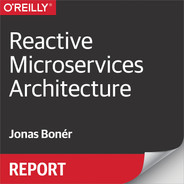 Cover of Reactive Microservices Architecture