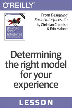 Determining the right model for your experience