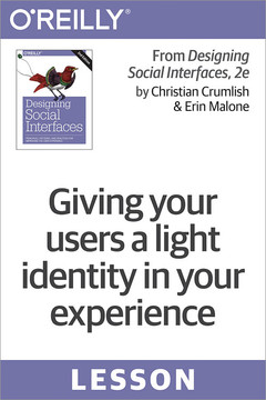 Giving your users a light identity in your experience