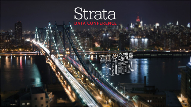 Strata Data Conference in NY 2017 Video Compilation