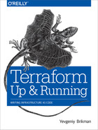 Cover of Terraform: Up and Running
