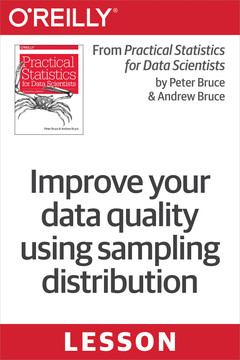 Improve your data quality using sampling distribution