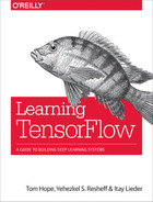 Cover of Learning TensorFlow