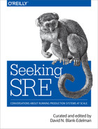 Cover of Seeking SRE